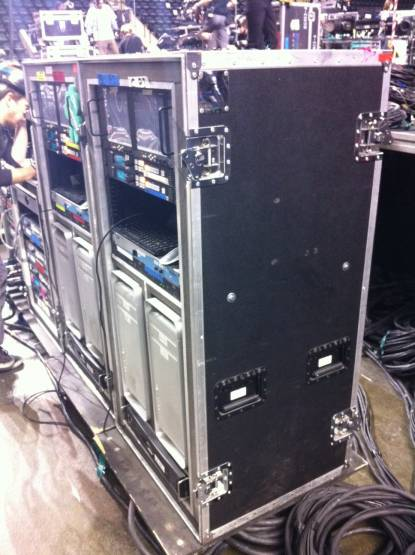 VIDEO PROJECTON RACK